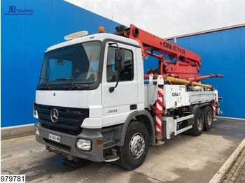 Auto pumpa za beton Mercedes-Benz Actros 2636 6x4, Cifa 31 mtr,3 pedals,Steel suspension, Remote