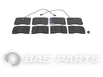 Kočione pločice DT SPARE PARTS Disc brake pad kit 04253770