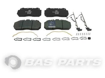 Kočione pločice DT SPARE PARTS Disc brake pad kit 5001831161