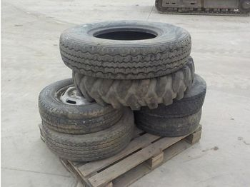 Pallet of Various Tyres & Rims (6 of) - točkovi/ gume